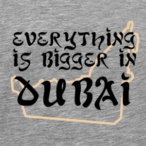 Bigger in Dubai 1 - Men's Premium T-Shirt