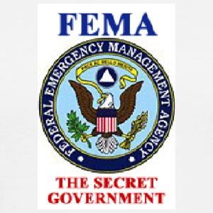 FEMA- The Secret Government - Men's Premium T-Shirt