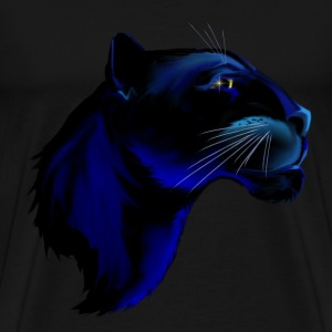 Panther Face - Men's Premium T-Shirt