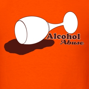Alcohol Abuse - Men's T-Shirt