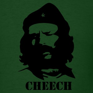 Forest green Cheech Men - Men's T-Shirt