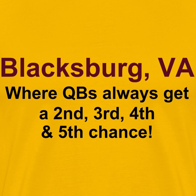 Blacksburg: QBs get a 5th chance