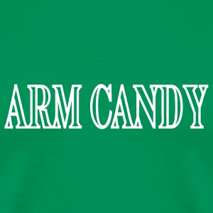 Bright green Arm Candy Men - Men's Premium T-Shirt