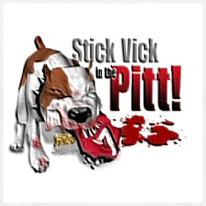Stick Vick in the Pitt. - Men's Premium T-Shirt