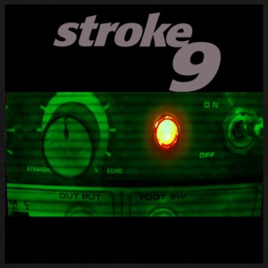 stroke 9 amp on black - Men's Premium T-Shirt
