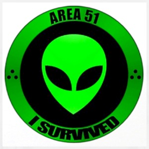 I survived Area 51 t-shirt - Men's Premium T-Shirt