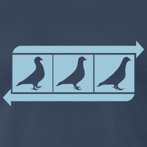pigeon dance - Men's Premium T-Shirt