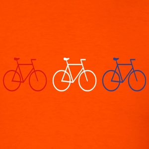 Orange 3 Bikes Men - Men's T-Shirt