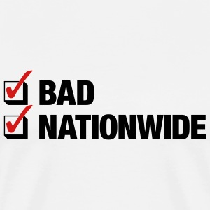 White Bad. Nationwide. Men - Men's Premium T-Shirt
