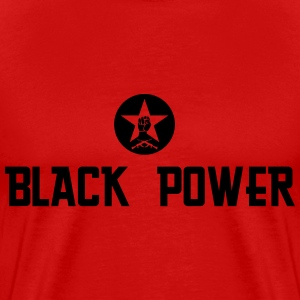 Black Power(logo) - Men's Premium T-Shirt