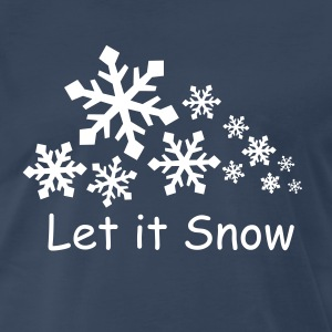 Let it Snow Tee - Men's Premium T-Shirt