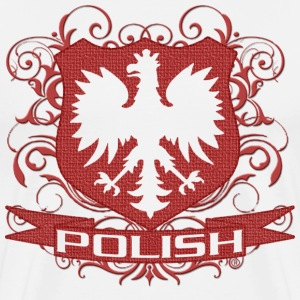 Polish Eagle Crest - Men's Premium T-Shirt