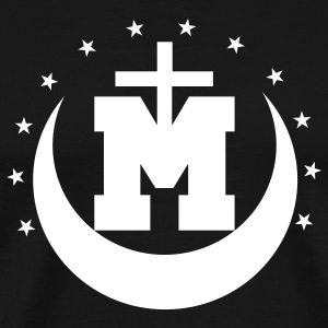 Black Mediatrix Men - Men's Premium T-Shirt