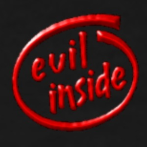 evil inside - Men's Premium T-Shirt