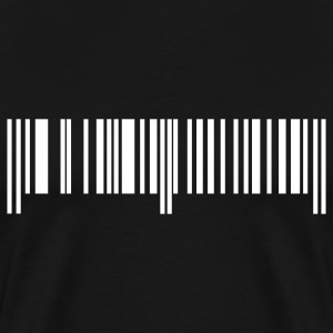 Black Bar Code Men - Men's Premium T-Shirt