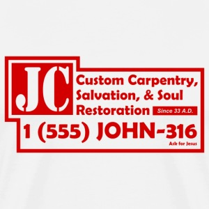 White JC Salvation Co. Men - Men's Premium T-Shirt