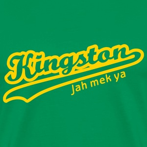 Bright green Kingston Men - Men's Premium T-Shirt