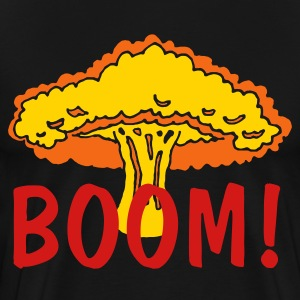 Black Boom Blast Men - Men's Premium T-Shirt
