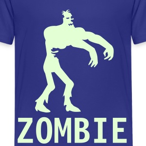 Royal blue Zombie Kids & Baby - Kids' Premium T-Shirt