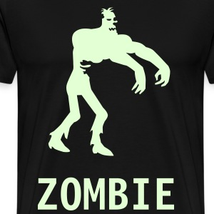 Black Zombie Men - Men's Premium T-Shirt