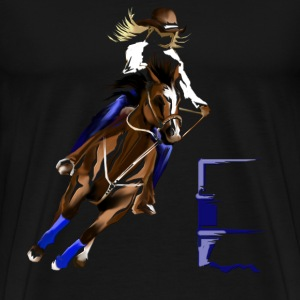 Gymkhana-Barrel Racing - Men's Premium T-Shirt