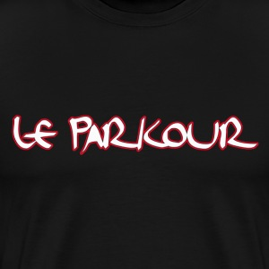 Le Parkour - Men's Premium T-Shirt