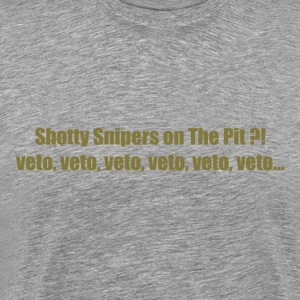 Veto Shotty Snipers on The Pit - Men's Premium T-Shirt