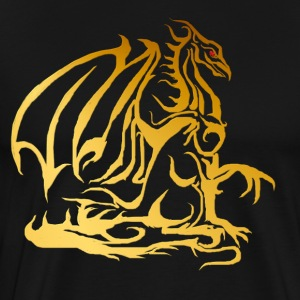 The Golden Dragon - Men's Premium T-Shirt