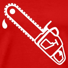 Red Chainsaw T-Shirts