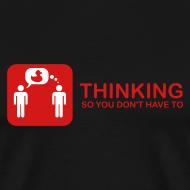 Design ~ thinking - red on black