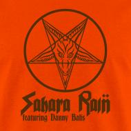 Design ~ Men's Orange Sahara Rain