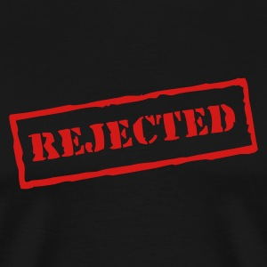 Black Rejected Men - Men's Premium T-Shirt