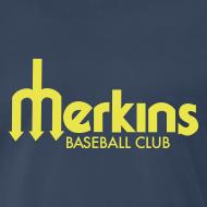 Design ~ Men's Navy Merkins Yellow Lttr