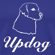 Design ~ Men's Royal Blue Updog