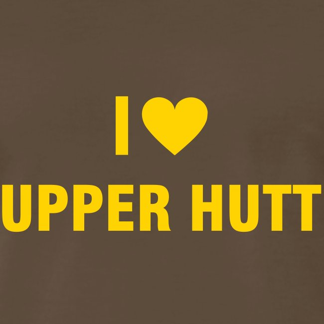 I love Upper Hutt Mens T-shirt