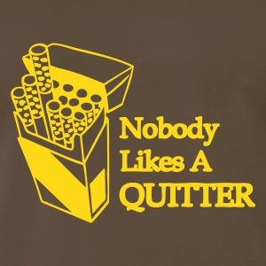 Chocolate Quitter Men - Men's Premium T-Shirt