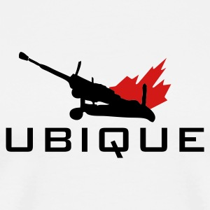 White Ubique T-Shirts - Men's Premium T-Shirt