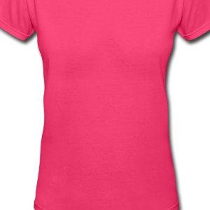 pink elephant Sweatshirts - Women's V-Neck T-Shirt