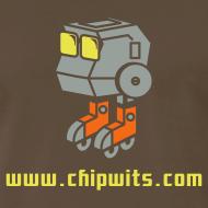 Design ~ Heavyweight cotton T-Shirt - Chipwit (chocolate)