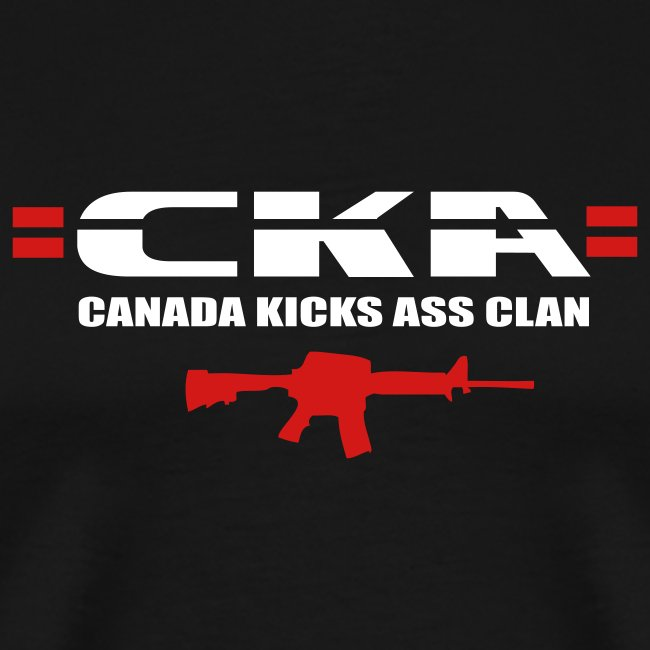 =CKA= Heavy T-Shirt (text on back)