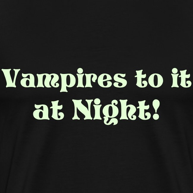 Vampires do it at night
