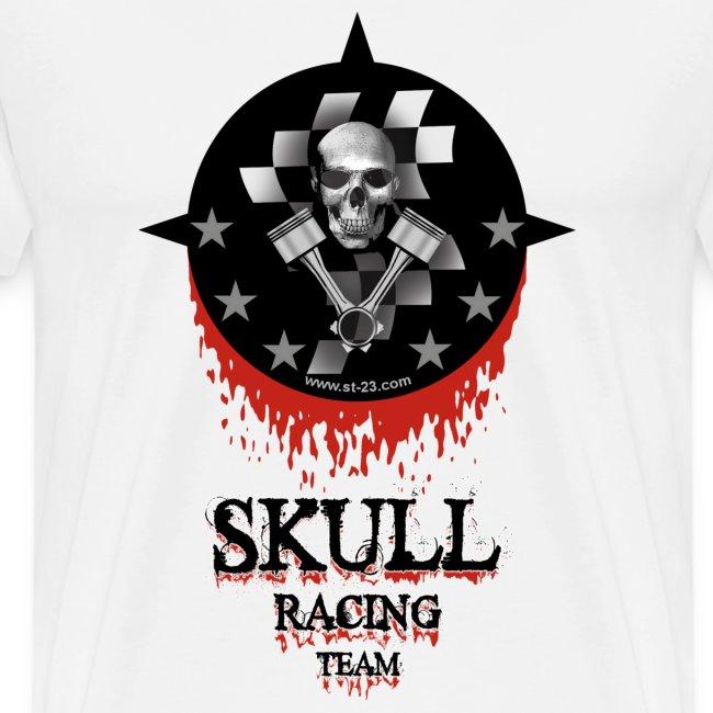 st23 t shirts skull racing team mens premium t shirt