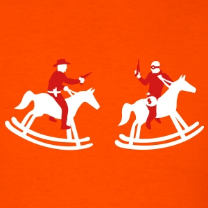 Orange The Chase Men - Men's T-Shirt