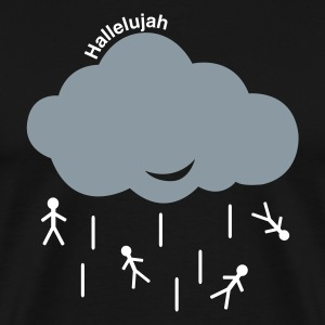 Black Hallelujah Men - Men's Premium T-Shirt