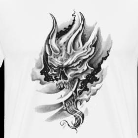 Design ~ smokey skull