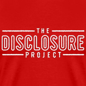 Red The Disclosure Project - energy technology disclosure Men - Men's Premium T-Shirt