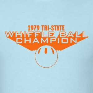 Sky blue whiffle ball champion Men - Men's T-Shirt