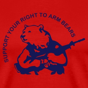 Red arm bears Men - Men's Premium T-Shirt