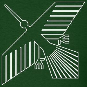 Forest green Xevian Bird Men - Men's T-Shirt