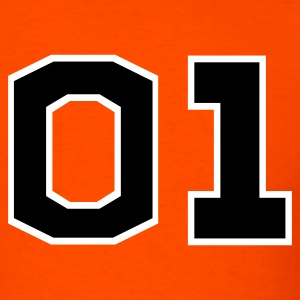 Orange General Lee Men - Men's T-Shirt